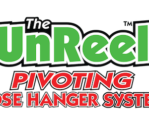The Unreel Pivoting Hose Hanger System