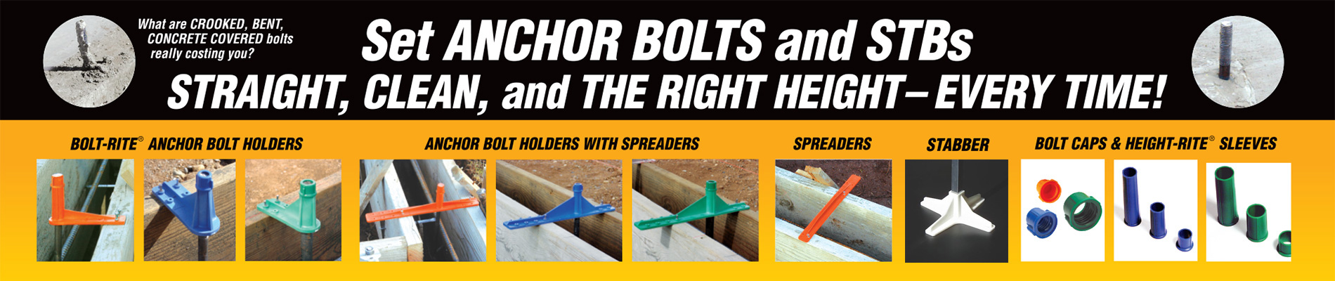 Anchor Bolts Info